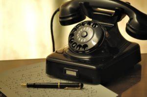 事務職 電話応対用